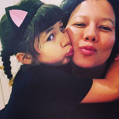 Mahalia Barnes, daughter, Ruby