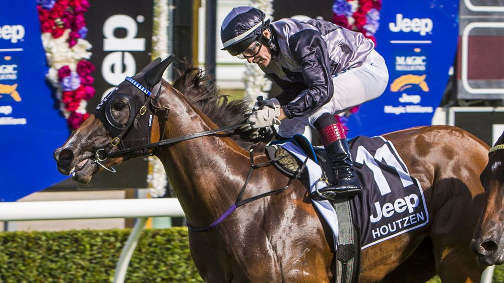 Houtzen will take some beating in the Golden Slipper. (AAP)