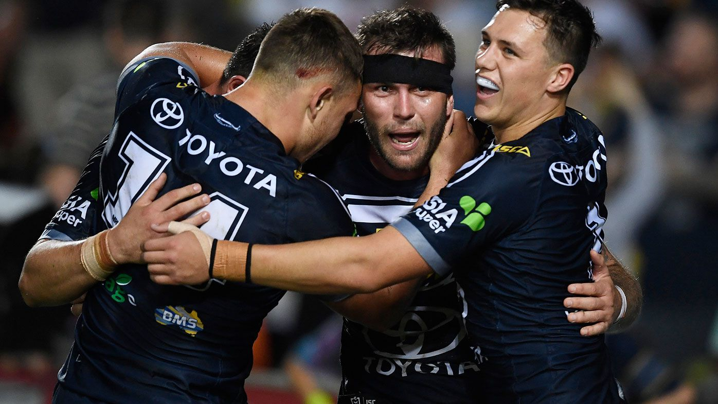 NRL: North Queensland Cowboys' fond farewell ends Bulldogs' season