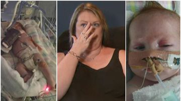 Parents devastated after being told their son might not survive