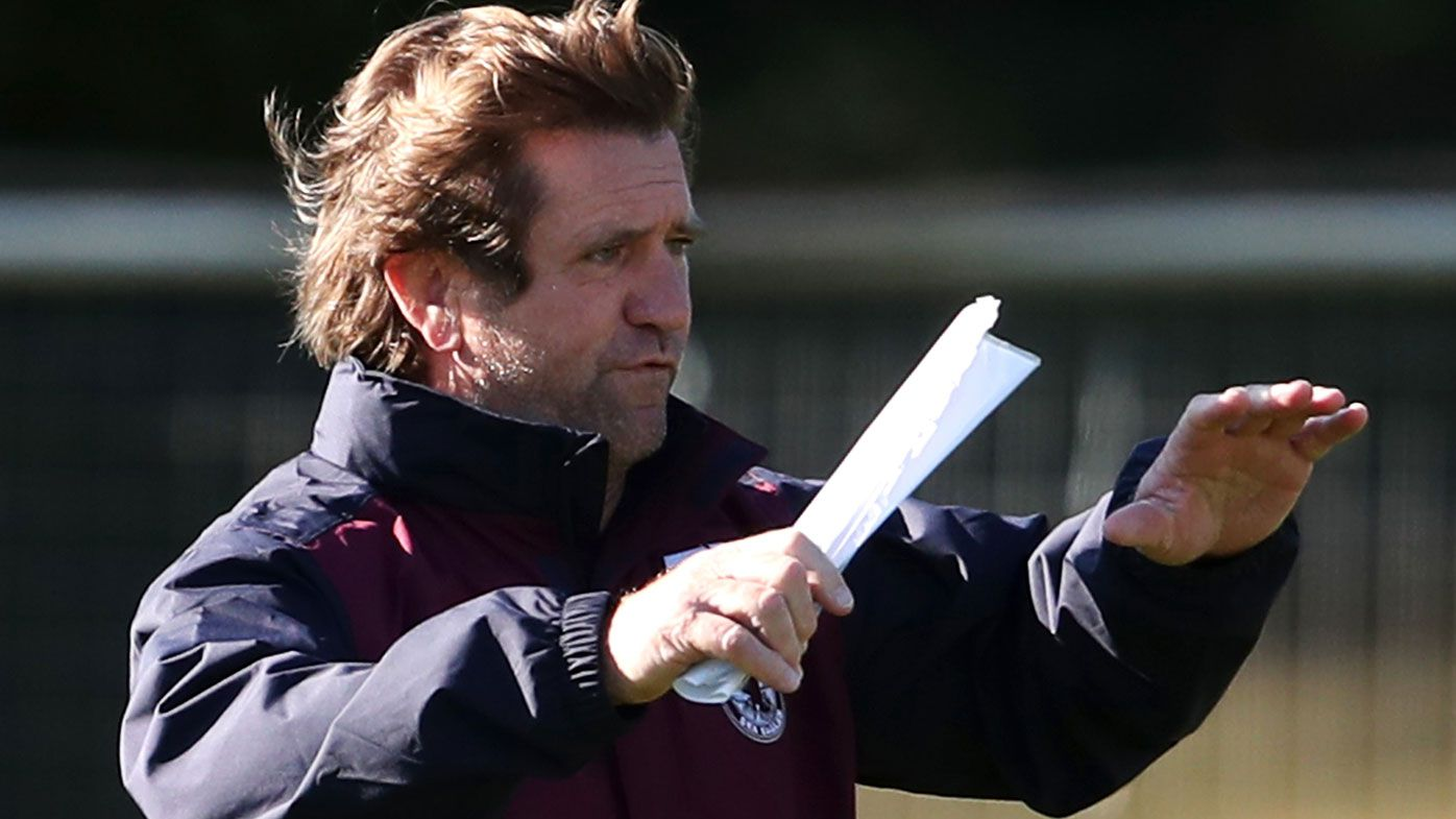 'The door stayed on the hinges': Manly receive wake up up call after 'good spray' from Hasler