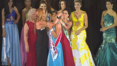 "<p>Some beauty queens don't smile — they just grit their teeth and hold back from clawing out their opponents' eyes. </p><p> In a fit of very sour grapes, the runner-up in Brazil's Miss Amazonas 2015 on the weekend ripped the crown from her rival's head believing it was rightfully hers. </p><p> ""You don't deserve this crown,"" the second-placed Sheislane Hayalla screamed as she yanked tiara and hair from winner Carol Toledo's head. </p><p> Hayalla later claimed she wanted to ""express my disapproval of the actions shown in preparation of Miss Amazonas 2015"". </p><p> ""I don't regret having protested,"" she wrote on Facebook. </p><p> ""I apologise if anyone didn't like my attitude, but I really did what my heart told me to,"" she said. </p><p> It remains unclear whether the jilted runner-up will keep her place as Miss Amazonas' lady in waiting, but her actions were not novel in the pageant circuit. </p><p> Watch some of the best beauty queen moments including several wardrobe malfunctions, mindless responses to simple questions and another full-on cat fight.  </p><p> </p>"