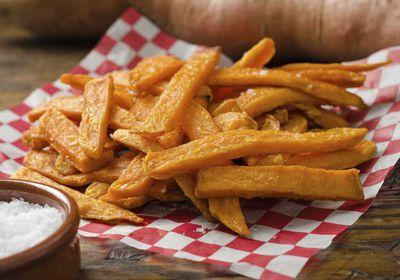 <p>Swap hot potato chips for sweet potato fries</p>