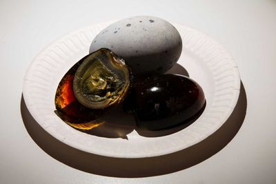 <strong>Century eggs</strong>
