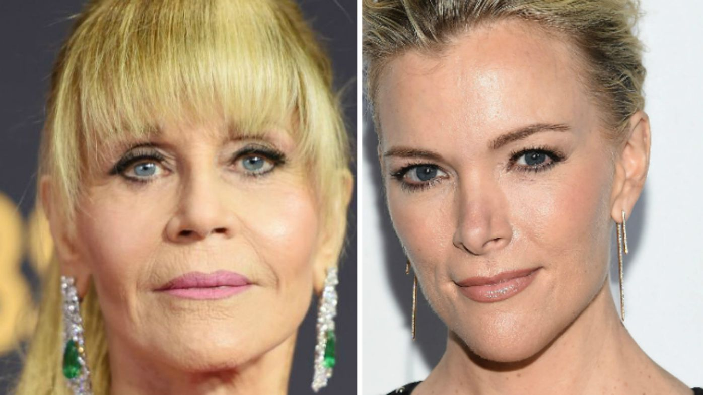 Megyn Kelly fires back at 'Hanoi Jane' Fonda over plastic-surgery feud