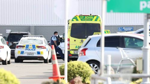 Emergency services respond to incident at a mall in New Lynn, Auckland, New Zealand.