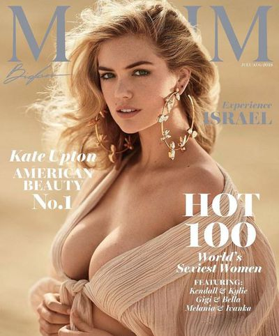 "<p>In what should come as no great surprise that actress and highly-sought after model <a href=""https://style.nine.com.au/2018/04/24/10/12/kate-upton-swimwear"" target=""_blank"">Kate Upton</a> has been given the top honour on Maxim's Hottest 100 list.</p> <p>The <a href=""https://style.nine.com.au/2017/12/12/13/29/kate-upton-wedding-makeup-products-beauty"" target=""_blank"">newly married</a> Upton fronts the magazine's July edition where she says she's very proud to take the title.&nbsp;</p> <p>""Thanks to Maxim for naming me the No. 1 hottest woman of 2018,"" Upton gushed in a post in Instagram. ""You know, I work really hard on myself, on feeling good, working out, being strong. Being number one on the Hot 100 is a little reward for all of the hard work.""</p> <p>The magazine said giving the coveted spot to the 25 year-old was a no-brainer.</p> <p>""Our annual Hot 100 issue is about so much more than physical beauty, although this year's nominees have that in spades,""&nbsp;Maxim&nbsp;COO Robert Price said in a statement. ""Now more than ever, we need to celebrate smart, powerful women who are breaking boundaries, shattering glass ceilings and showing us what is possible—none more so than our incredibly talented cover star, Kate Upton.""&nbsp; &nbsp;</p> <p>Shot by renowned French fashion photographer Gilles Bensimonon the sands of Isreal, Upton says the shoot was a dream come true.</p> <p>""I was so excited. It was one of my bucket-list trips,"" reveals the <em>Other Woman</em> star. ""Israel is such a new country, but obviously with such old, rooted history. I went to Jerusalem and to the Dead Sea and floated around; my mom came with me.""</p> <p>The actress joins other A-listers such as Taylor Swift, Miley Cyrus, Olivia Wilde and fellow <em>Sports Illustrated </em>models, Bar Refaeli and Marissa Miller who are all former Maxim Hot 100 No 1's.</p> <p>Click through to take a look at Upton's celebratory shoot…</p>"