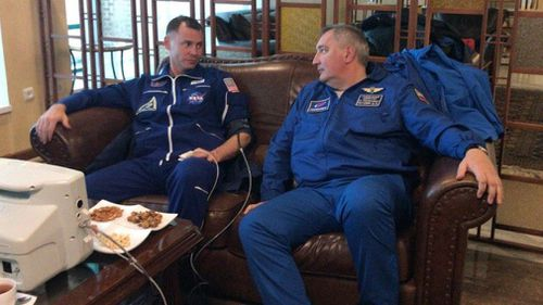 The astronauts in recovery, both are said to be in good condition back in Star City, Russia's space training centre outside Moscow.