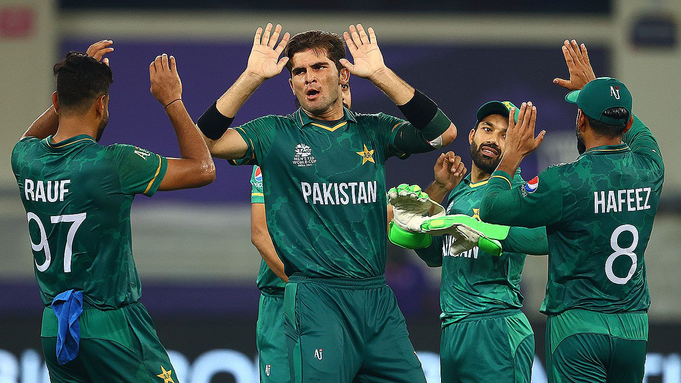 Pakistan makes World Cup history against India