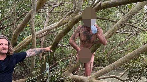Buronan telanjang Darwin