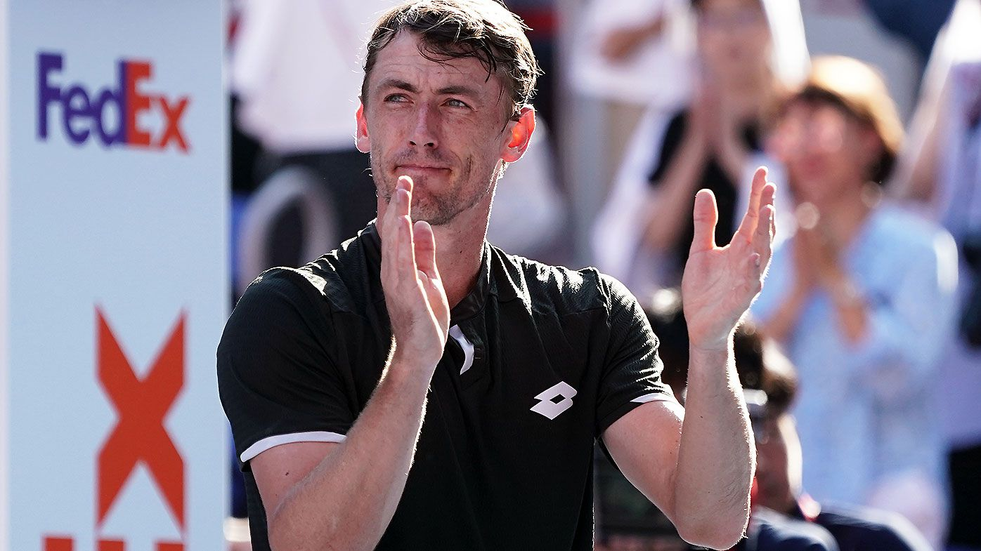 John Millman sets up date with rampant Novak Djokovic in Japan Open final