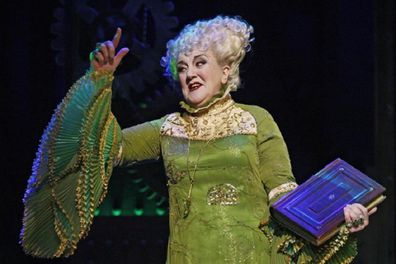 Maggie Kirkpatrick starred in hit musical Wicked for seven years.