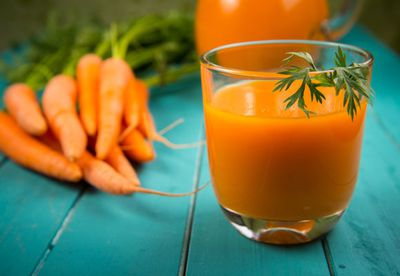 Death by ... carrot juice?