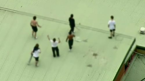 The announcement follows a spate of riots at Victoria's Malmsbury Youth Justice Centre. (9NEWS)