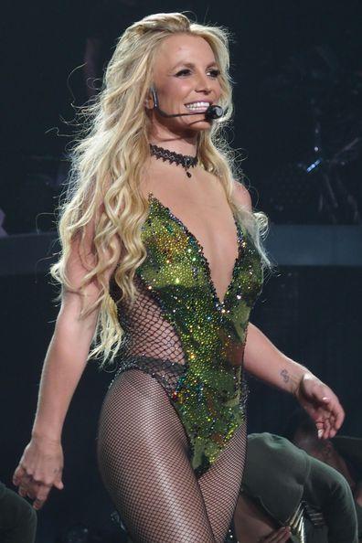 Britney Spears, transformation, photos, residency show Britney: Piece of Me, Planet Hollywood Resort & Casino, Las Vegas, 2016