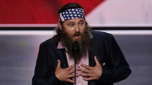 Willie Robertson, star of Duck Dynasty. (Source: AFP)
