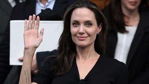 Angelina Jolie named visiting professor of London university
