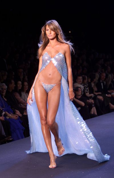 "<p>The world stops and pays serious attention to the runway extravaganza that is the <a href=""https://style.nine.com.au/2017/11/21/01/10/victorias-secret-2017-shanghai"" target=""_blank"" draggable=""false"">Victoria's Secret </a>show, but the world's biggest fashion event hasn't always been such a lavish affair.</p> <p>The very first VS show was held at New York's Plaza hotel in 1995 with no glamorous costumes, no wings, no chart-topping musicians and the only A-list models present were Stephanie Seymour, Veronica Webb and Australia's own Gail Elliott. The look was still sexy, but in an understated way.</p> <p> Fast-forward more than two decades and the show is a supermodel marathon with the likes of Gisele Bundchen, Heidi Klum and Miranda Kerr having all strutted their stuff in diamond-encrusted wings to the musical stylings of Kanye West, Rihanna and Jay Z.</p> <p> </p> <p>We take a look back at 22 years of the world's biggest lingerie brand. Click through to see the evolution of the Victoria's Secret fashion show.</p>"