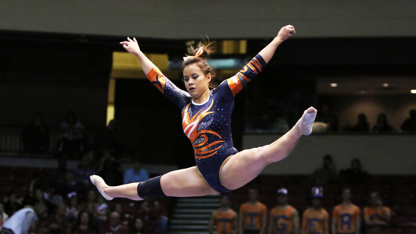 Gymnast suffers horrific leg injuries in shocking fall