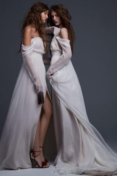 Simona & Serafina dresses, Vera Wang 2017 Bridal Collection