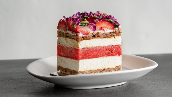 Black Star Pastry Strawberry and Watermelon Cake