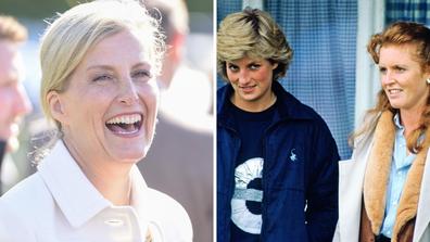 Sophie Wessex, Princess Diana, Sarah Ferguson
