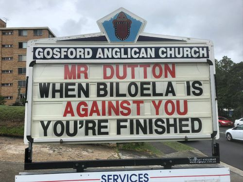 "Father Rod is encouraging people to ""give up giving up"" for Lent. (Image: Facebook/Anglican Parish of Gosford)"