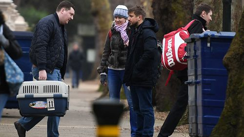 Nearly two dozen diplomats were expelled back to Russia following the poisoning of an ex-spy on British soil. Picture: AAP.