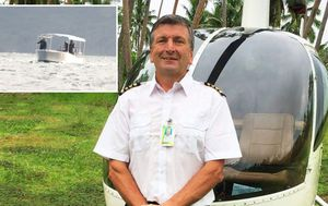 Mercy mission helicopter flight crashes in Fiji, killing Australian pilot, mother and child