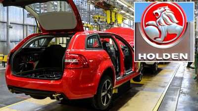 End of an era: Last Holden to roll off production line
