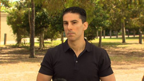 The victim's son, Stavros Saristavros, spoke about the reward to catch his father's killer.