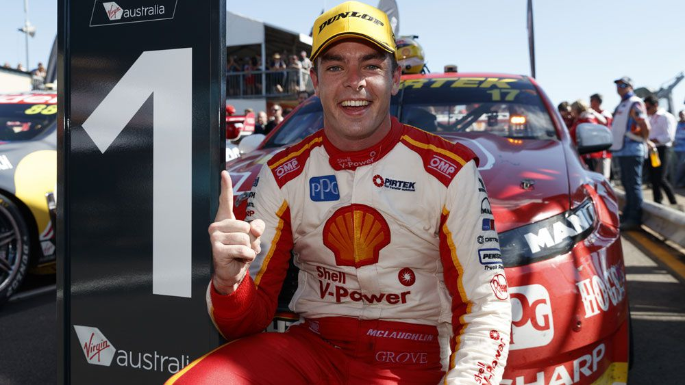 Ford's Scott McLaughlin scores dominant Supercars win at Hidden Valley Raceway in Darwin