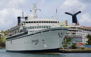 Scientology cruise ship Freewinds still quarantined after measles outbreak