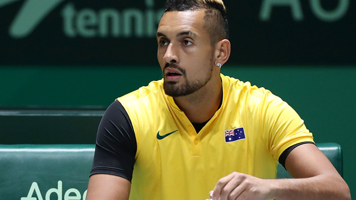 Nick Kyrgios pulled out of Australia's Davis Cup quarter final.