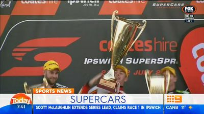 Scott McLaughlin claims Ipswich Supercars win