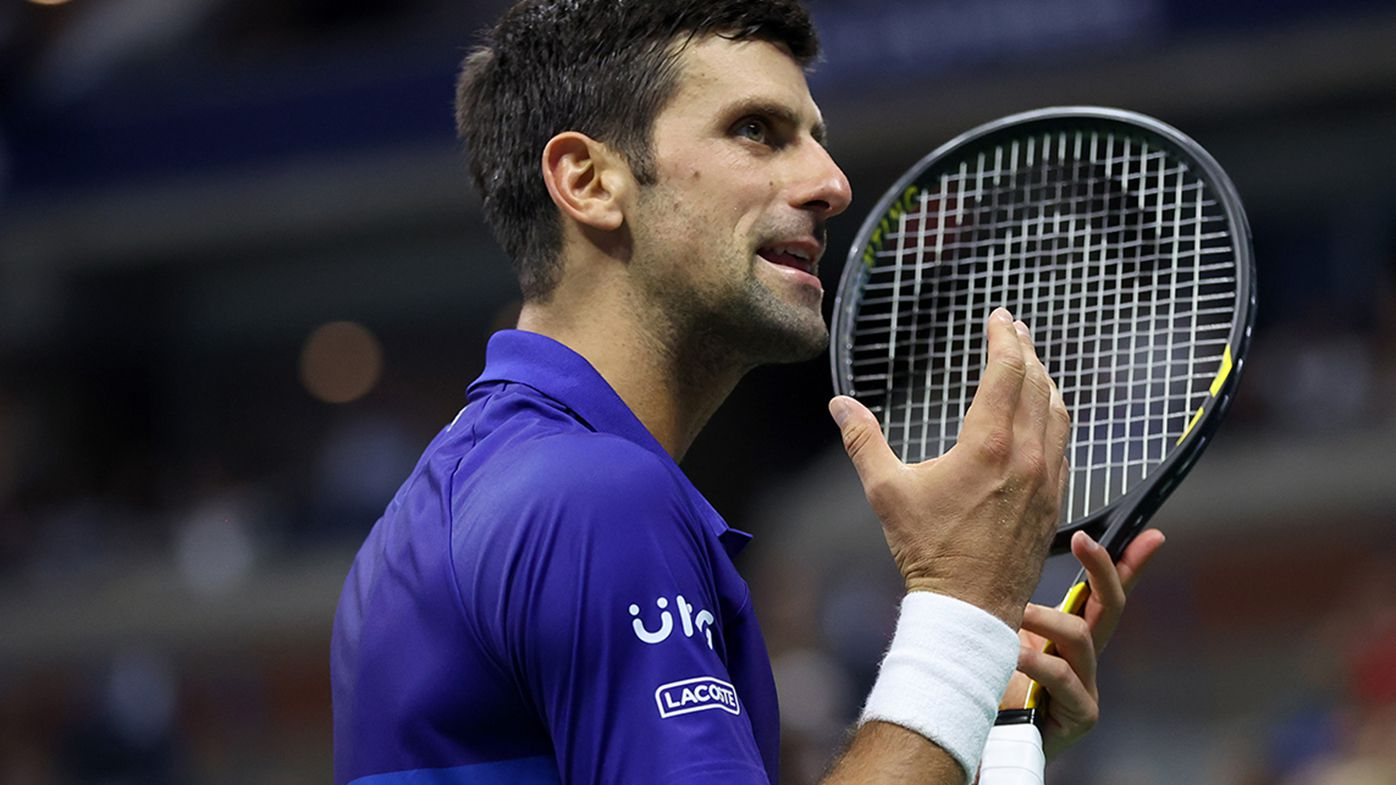 Novak Djokovic came from a set down to book his spot in the quarter finals of the US Open.