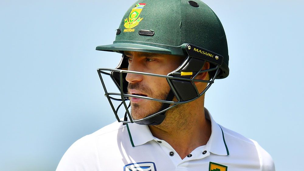 Proteas skipper Faf du Plessis is in good form. (AAP)