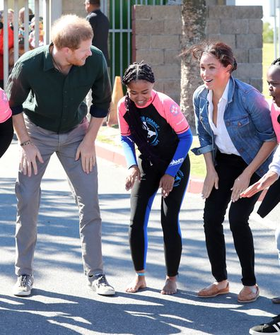 Prince Harry and Meghan Markle Africa day two