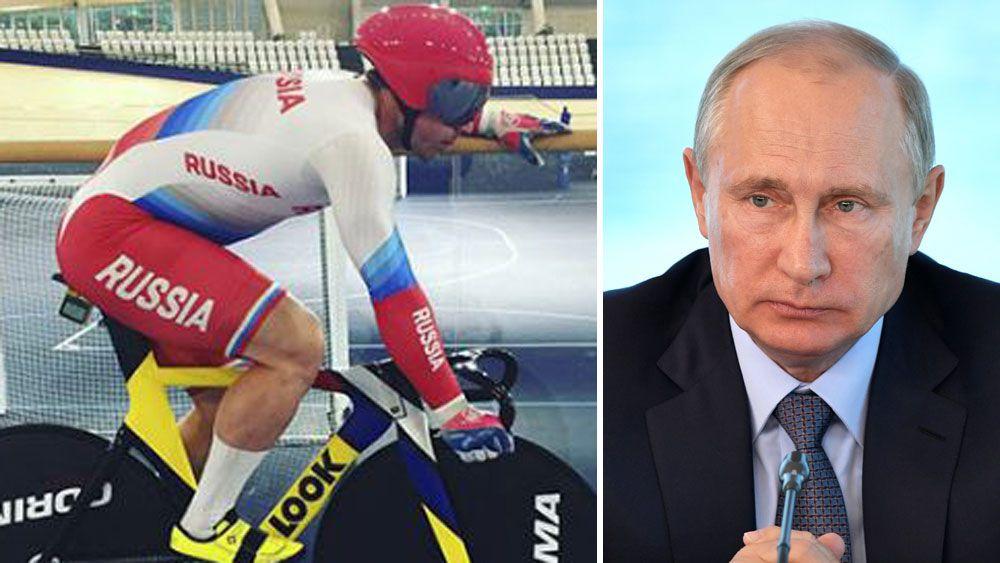 Vladimir Putin grants Russian citizenship to Australian cycling star Shane Perkins