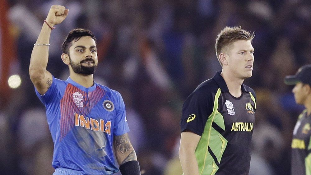Aust eliminated from World T20 by India