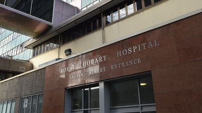 Body found outside Hobart hospital