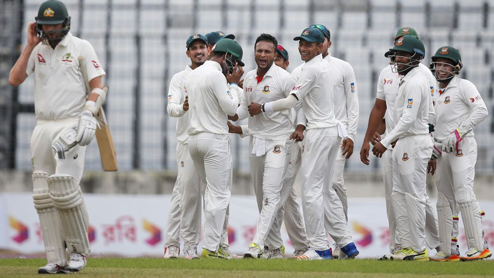 Australia v Bangladesh: Shakib Al Hasan and Mushfiqur Rahim take aim at attitude of visitors