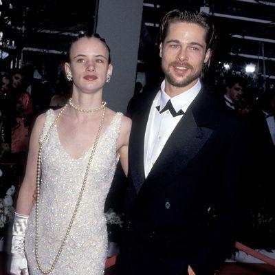 Brad Pitt (photographed with girlfriend Juliette Lewis)