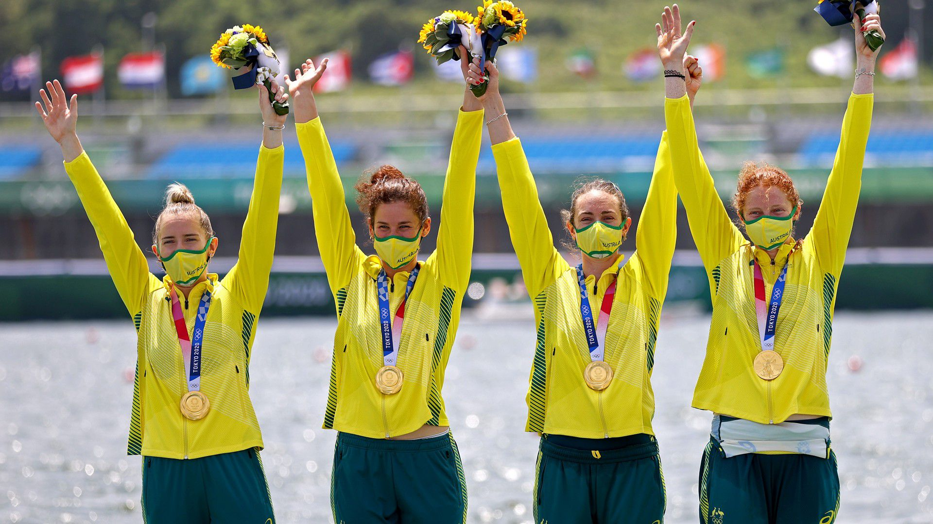 Tokyo Olympics 2021: Australian women's and men's fours win gold in thrilling finals