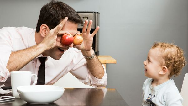 You're the apple of my eye son! Groan. Dad Jokes! Image: Getty