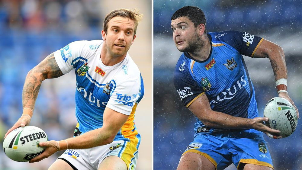 Gold Coast halves Ash Taylor and Kane Elgey ready to walk if Titans coach Neil Henry stays