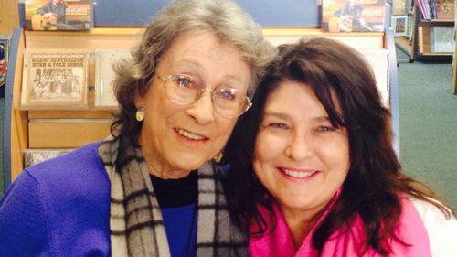 Country legend Joy McKean and Cheryl Byrnes.