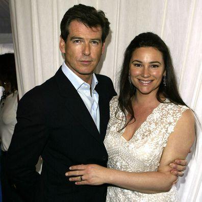 Pierce Brosnan, first wife Cassandra Harris, daughter Charlotte, what happened