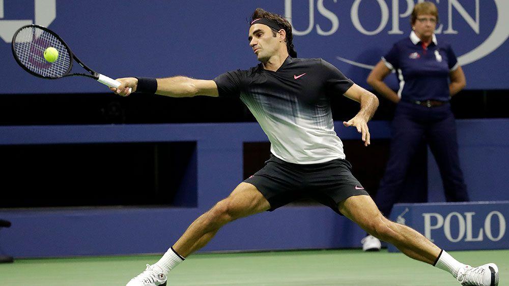 Roger Federer survives US teen scare at US Open