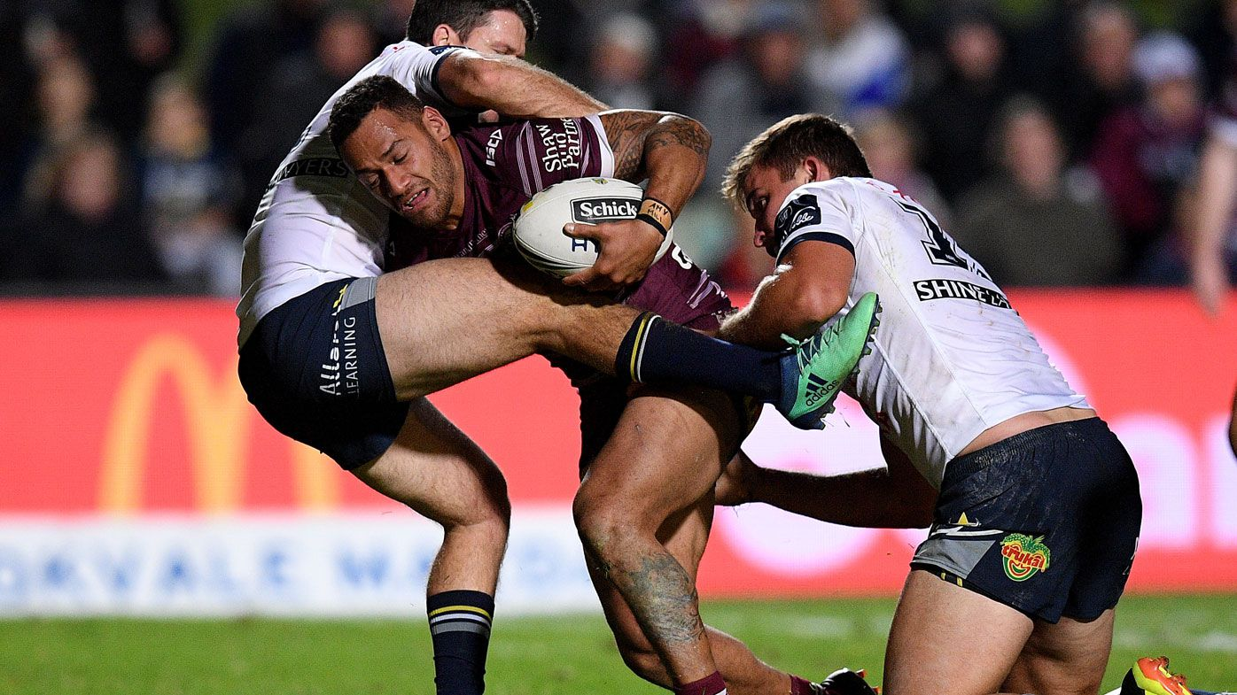 NRL: Manly Sea Eagles' Api Koroisau out for 10 weeks with broken foot